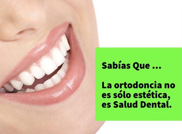 La Ortodoncia no es sólo estética, es Salud Dental.